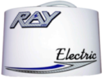Ray Electric Outboards motor cover