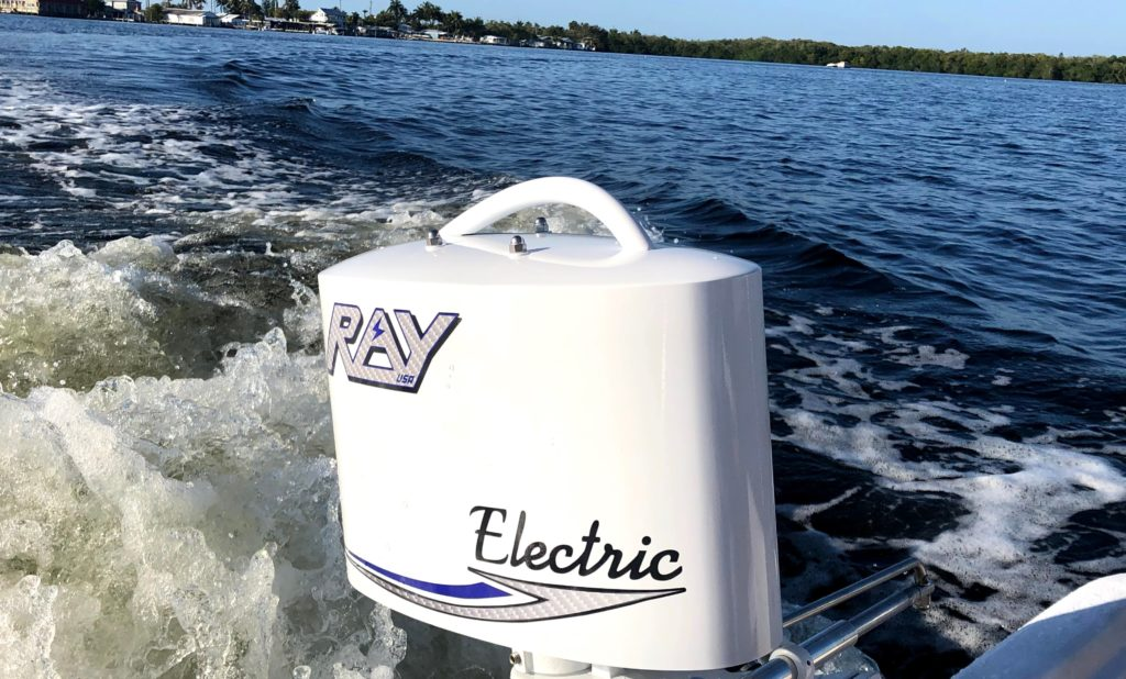 Ray Electric Outboards motor; The most reliable electric outboard motor since 1973.